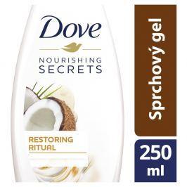 Dove Pečující Rituál sprchový gel s kokosovým olejem a mandlovým mlékem