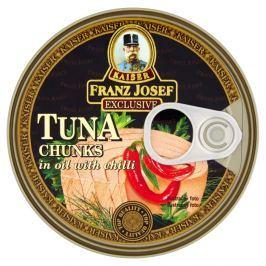 Franz Josef Kaiser Tuňák kousky v rostlinném oleji s chilli Tuňák