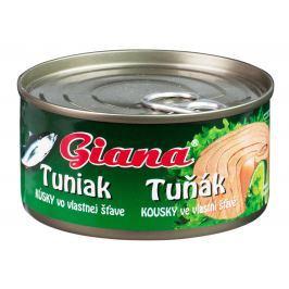 Giana Tuňák kousky ve vlastní šťávě Tuňák