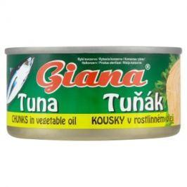 Giana Tuňák kousky v rostlinném oleji