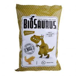 BioSaurus BIO Kukuřičný snack sýrový Krekry a snacky