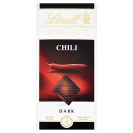 Lindt Excellence Chilli hořká čokoláda Hořké