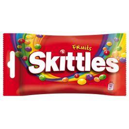 Skittles bonbóny žvýkací ovocné Žvýkací a želé