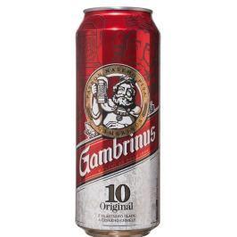 Gambrinus Originál pivo výčepní světlé plech