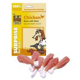 Huhubamboo kuřecí kost s masem Potraviny