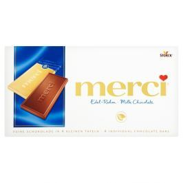 Merci tabulková čokoláda mléčná Potraviny