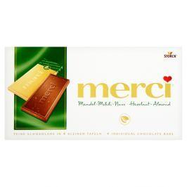 Merci tabulková čokoláda oříšková S oříšky