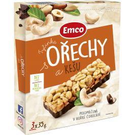 Emco Tyčinky s ořechy a kešu Müsli tyčinky