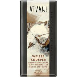 VIVANI Bílá křupavá čokoláda BIO