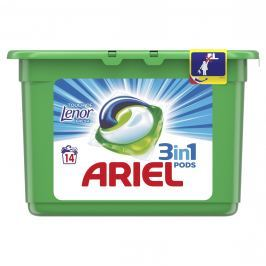 Ariel Touch of Lenor prací kapsle 14ks