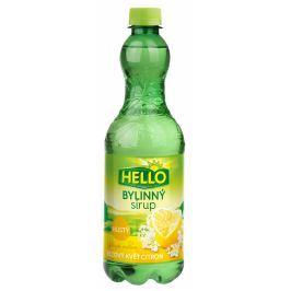 Hello sirup bezový květ a citron bylinný