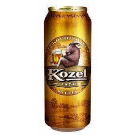 Velkopopovický Kozel pivo světlé plech