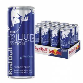 Red Bull Blue Borůvka energetický nápoj