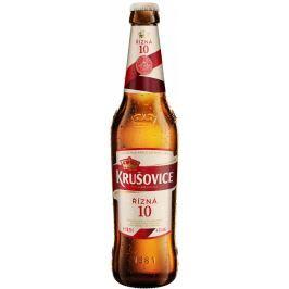 Krušovice 10 pivo výčepní světlé, sklo