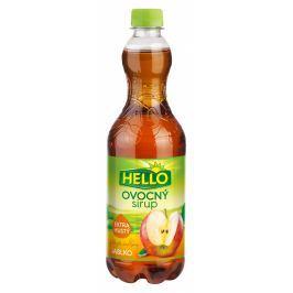 Hello extra hustý ovocný sirup jablko
