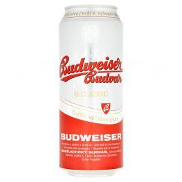 Budějovický Budvar Budweiser Budvar Classic světlé výčepní pivo plech