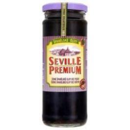 Seville Premium Olivy černé bez pecky