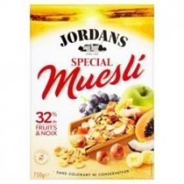 Jordans Special müsli Ovoce a ořechy