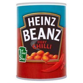 Heinz Fiery chilli bílé fazole v rajčatové omáčce