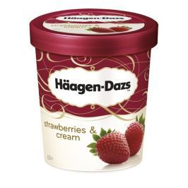 Häagen-Dazs Strawberries & Cream