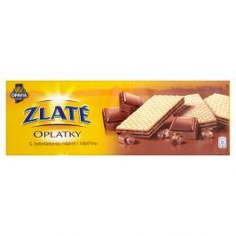 Opavia Zlaté Oplatky s čokoládovou náplní