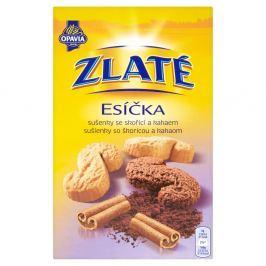 Opavia Zlaté esíčka sušenky se skořicí a kakaem