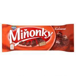 Opavia Miňonky Oplatky s kakaovou náplní v hořké čokoládě