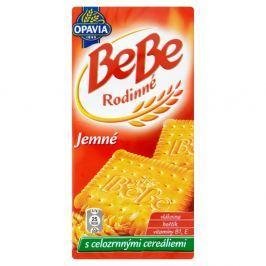 Opavia BeBe Rodinné jemné sušenky s máslovou a vanilkou příchutí s celozrnnými cereáliemi
