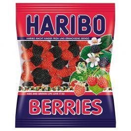 Haribo Berries želé s příchutí malin a ostružin