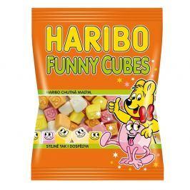 Haribo Funny Cubes pěnové cukrovinky s ovocnou příchutí