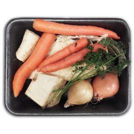 Směs polévkové zeleniny, balení