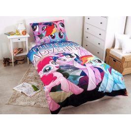 Jerry Fabrics Povlečení My Little Pony dobrodružství bavlna 140x200 70x90