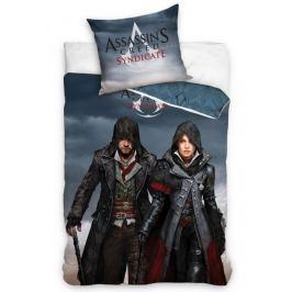 Carbotex Licenční povlečení Assassins Creed Jacob a Evie 140x200