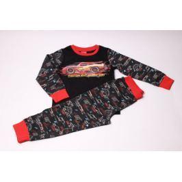 Chlapecké pyžamo z bavlny Auta 116/122