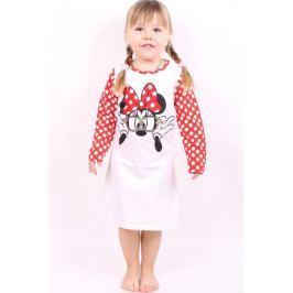 Dívčí noční košile z bavlny Minnie 116/122