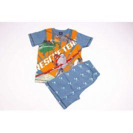 Klučičí bavlněné pyžamo se šortkami Letadla 92/98