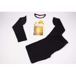 Pánské pyžamo Simpsons černé S