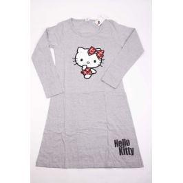 Dámská bavlněná noční košile Hello Kitty šedá L