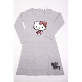 Dámská bavlněná noční košile Hello Kitty šedá XL