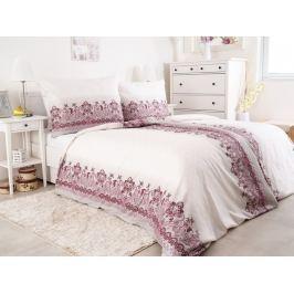 2x saténové povlečení ze 100% česané bavlny Hedebo růžová 140x200
