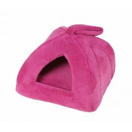 Domeček iglú pro čtyřnohé miláčky růžová 35x35