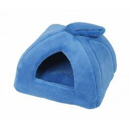 Domeček pro zvířecí mazlíčky Iglú modrá 35x35