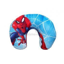 Licenční dětský cestovní polštářek Spiderman 28x33