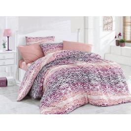 Bavlněné ložní povlečení Grabado růžová 140x200