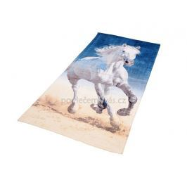 Bavlněná froté osuška Kůň Bělouš 70x140 cm