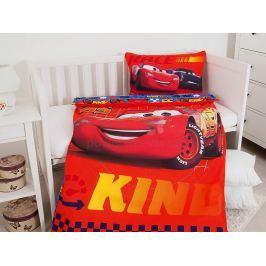 Licenční povlečení do dětské postýlky bavlna Cars 100x135