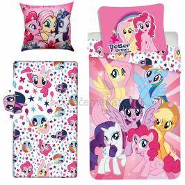 SET My little Pony povlečení a prostěradlo + polštářek