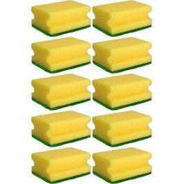 Tinky Houbička na nádobí tvarovaná 9 x 6 x 4 cm 10 kusů
