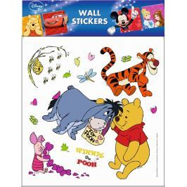 Room Decor Samolepky na zeď Disney Medvídek Pú 30 x 30 cm