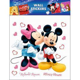 Room Decor Samolepky na zeď Disney Minnie a Mickey Mouse 30 x 30 cm